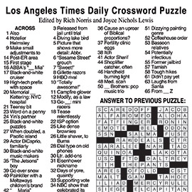 Websites And It Also Simplifies The Task Of Solving By Providing Required Crossword Puzzle Answers Which Could Be Accessed With A Simple Click