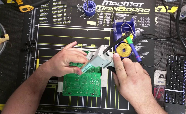 electronic cluster repair